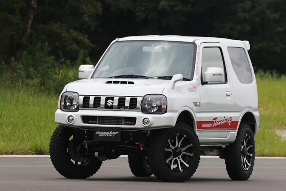 ジムニー JB23W コンプリートカー モンスタースポーツ