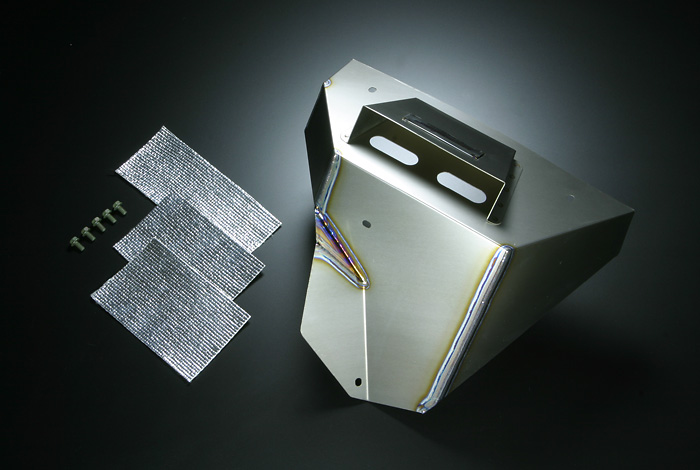 Monster Sport Titanium Exhaust Manifold Shield