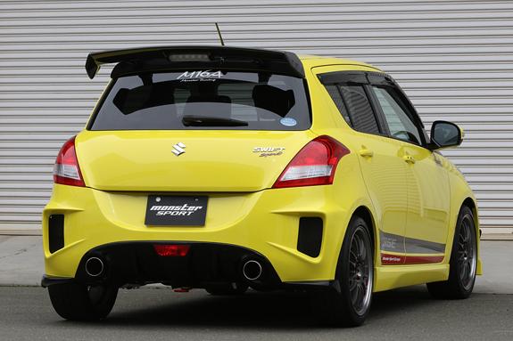 Monster Sport Suzuki Swift